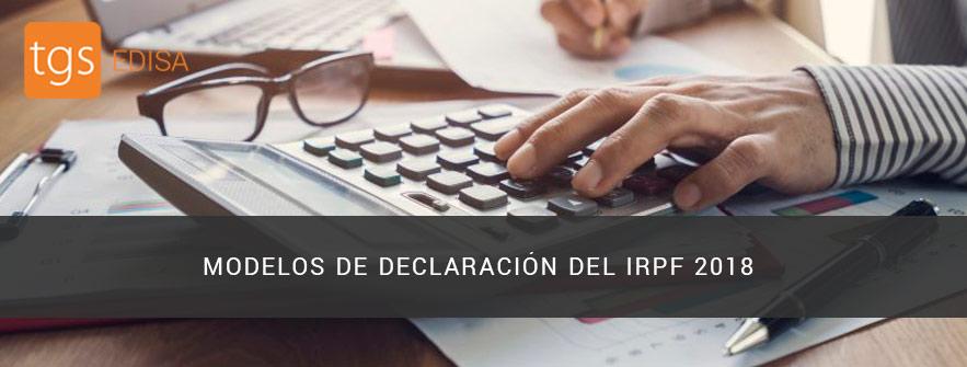 Declaracion IRPF 2018
